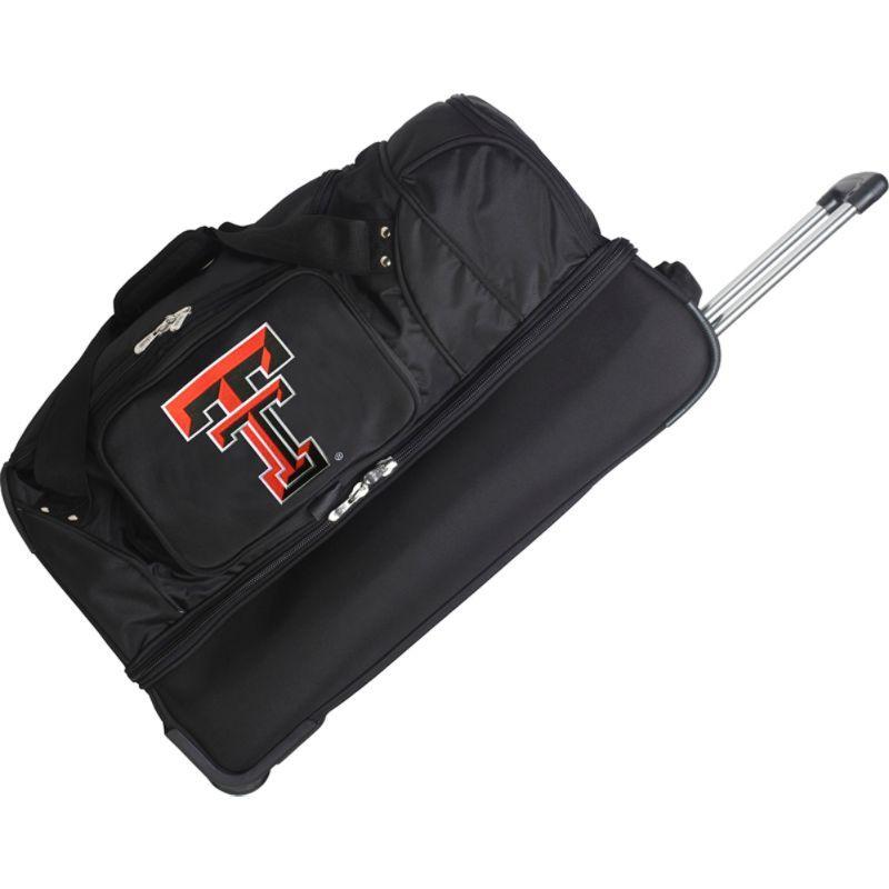 デンコスポーツ メンズ スーツケース バッグ NCAA 27 Drop Bottom Wheeled Duffel Bag Texas Tech University Red Raiders