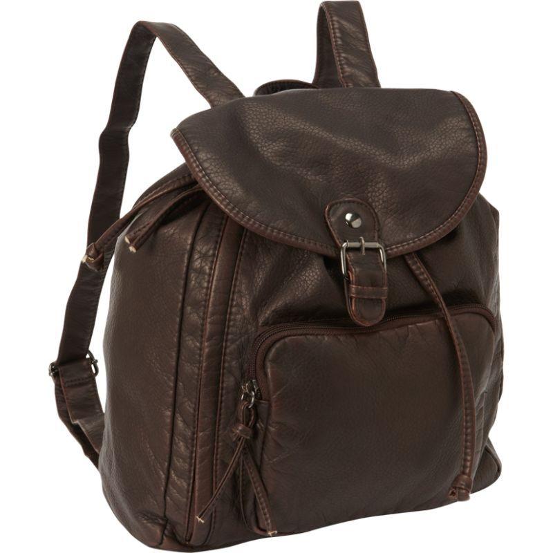 ベリノ メンズ バックパック・リュックサック バッグ Mason Backpack Brown