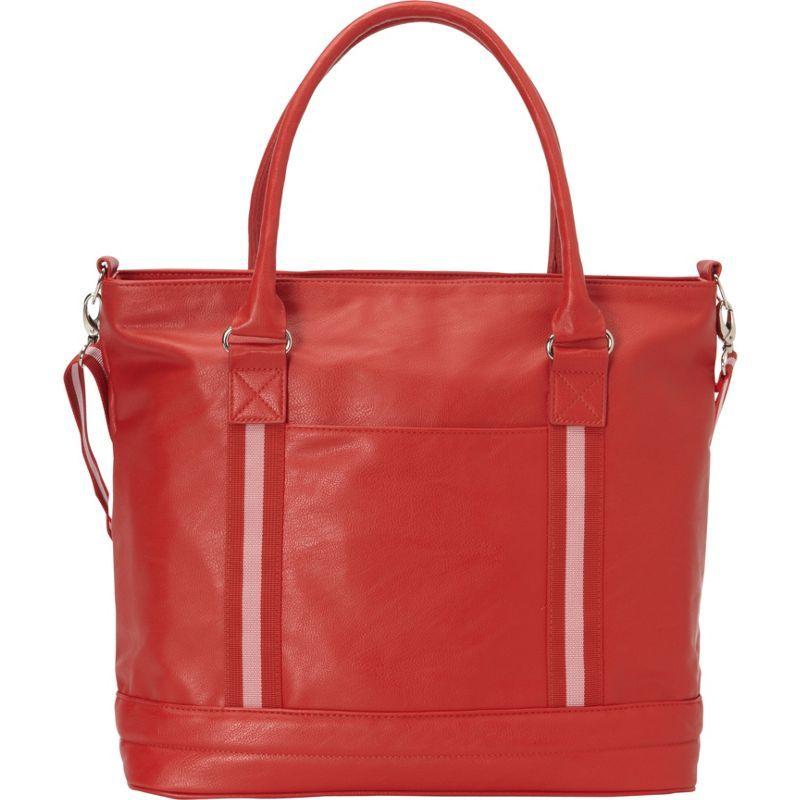 ベリノ メンズ スーツケース バッグ Cooper Tote Red