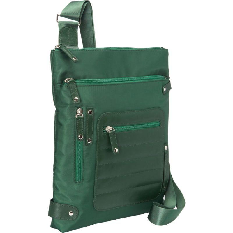 ウーメンインビジネス レディース ボディバッグ・ウエストポーチ バッグ Phoenix City Slim Shoulder Bag- 14 Green