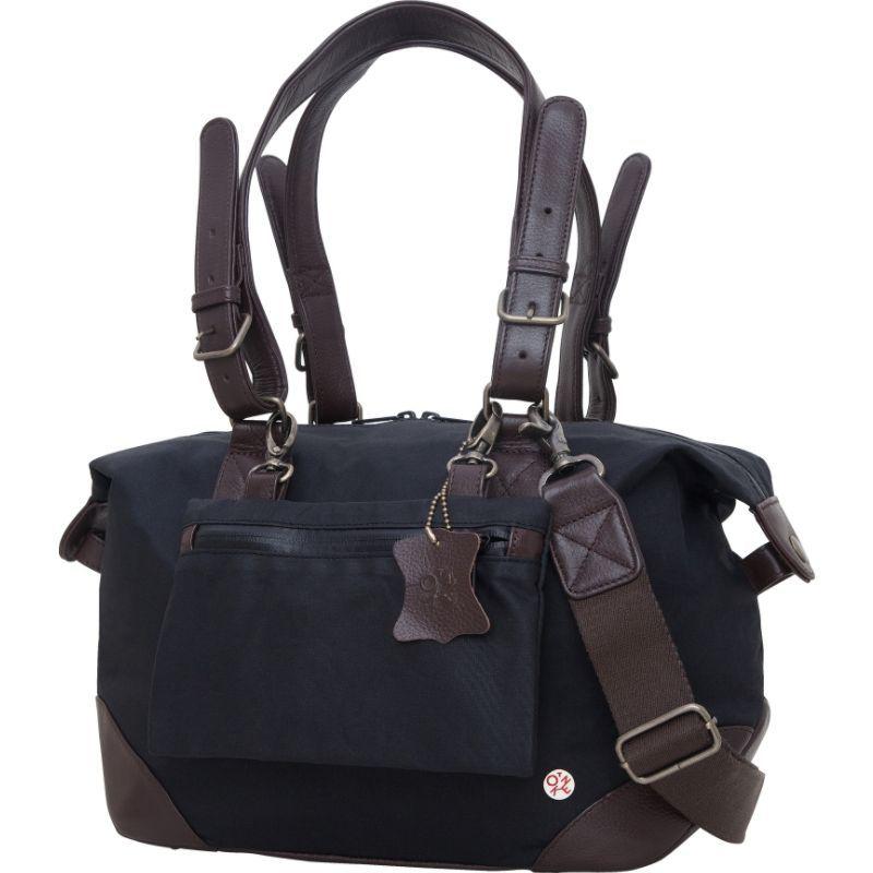 トーケン メンズ スーツケース バッグ Lafayette Waxed Duffel Bag (XS) Black