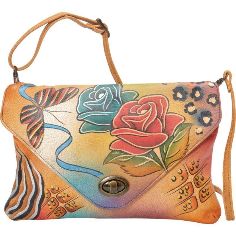 アンナバイアナシュカ メンズ セカンドバッグ・クラッチバッグ バッグ Envelop Clutch Rose Safari