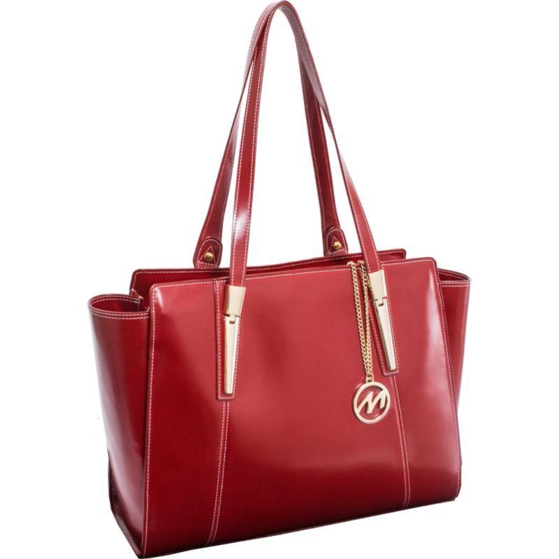 マックレイン メンズ スーツケース バッグ Aldora Tote Red