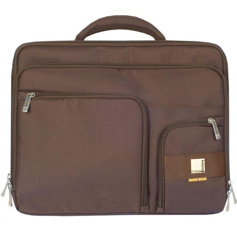 アーバンファクトリー メンズ スーツケース バッグ Moda Case 16 Brown