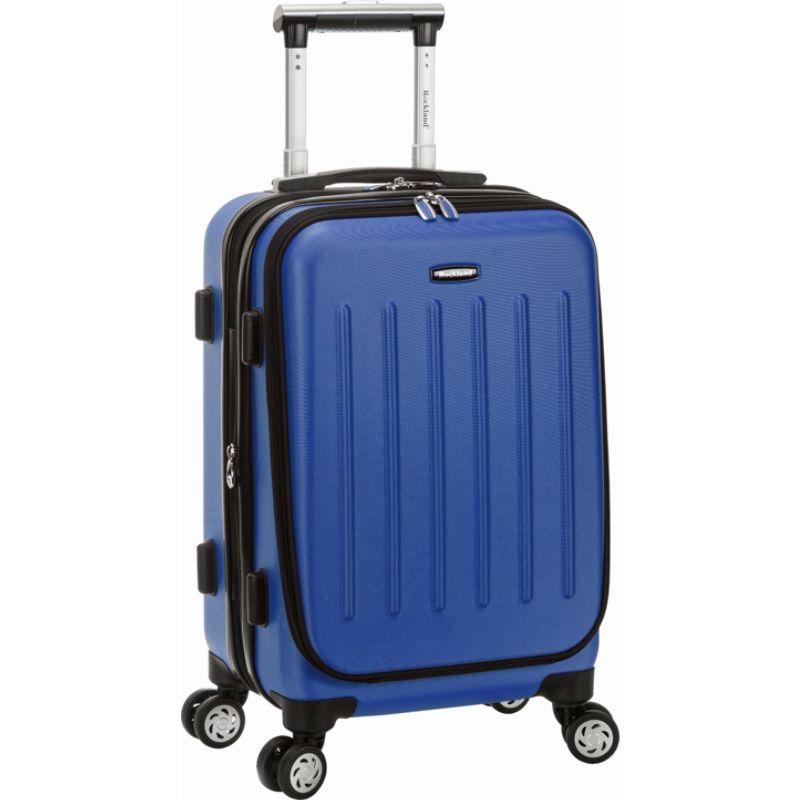 ロックランド メンズ スーツケース バッグ Titan 19 ABS Spinner Carry On Blue