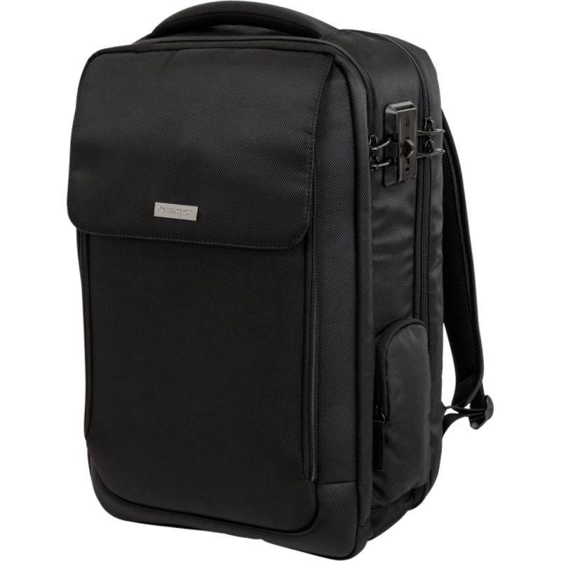 ケンジントン メンズ スーツケース バッグ Securetrek Overnight Laptop & Tablet Backpack (up to 17) Black