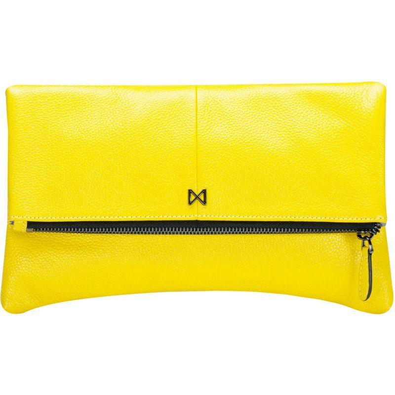 モフェ メンズ セカンドバッグ・クラッチバッグ バッグ Esoteric Pebble Leather Clutch Yellow