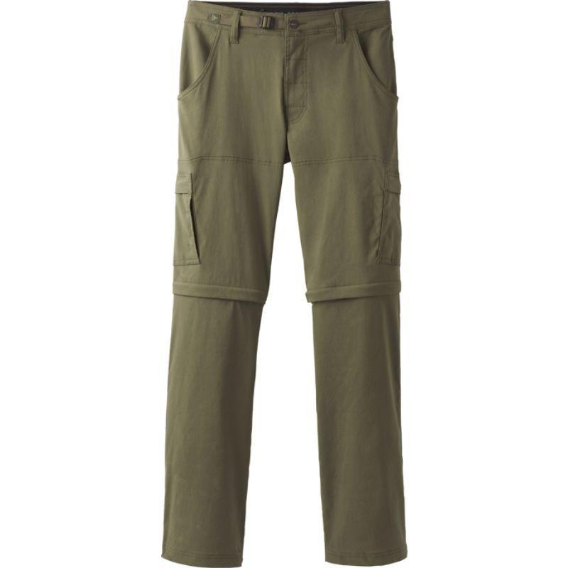 プラーナ メンズ カジュアルパンツ ボトムス Stretch Zion Convertible Pants - 30 Inseam Cargo Green
