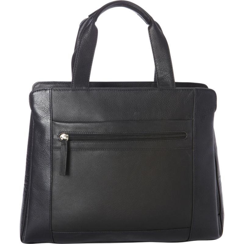 デレクアレクサンダー メンズ ショルダーバッグ バッグ Large NS Tote, Tablet Friendly Black/Black