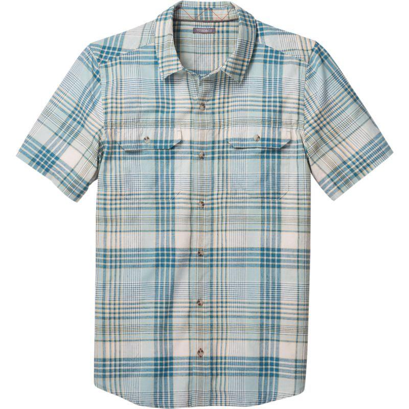 トードアンドコー メンズ シャツ トップス Hookline Short Sleeve Shirt Arctic