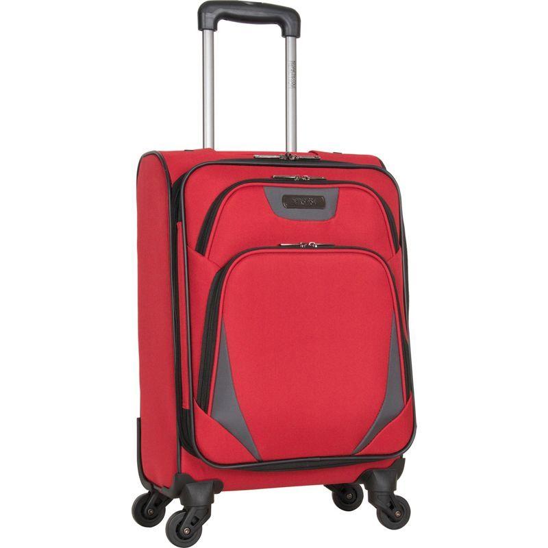 ケネスコール メンズ スーツケース バッグ Going Places 20 Expandable 4-Wheel Carry-On Barn Red