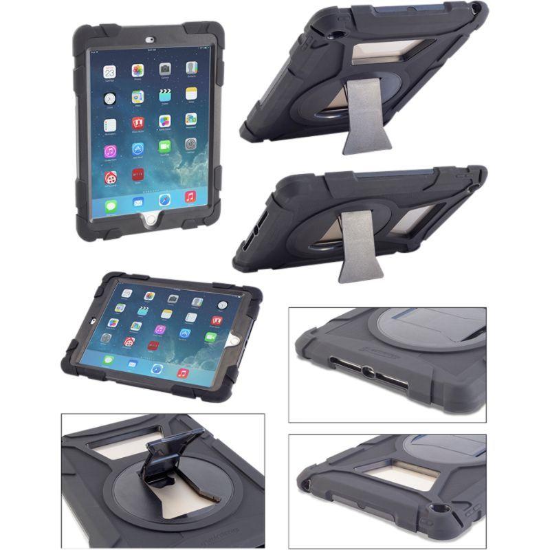 デバイスウェア メンズ PC・モバイルギア アクセサリー Caseiopeia Keep Safe iPad Air 2 Case Black
