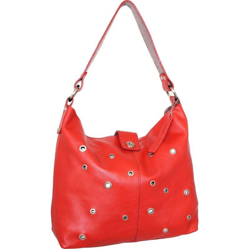 ニノボッシ メンズ ショルダーバッグ バッグ Suzie Shoulder Bag Crimson