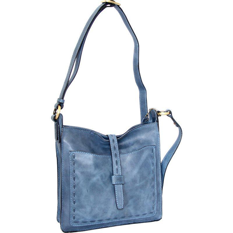 ニノボッシ メンズ ボディバッグ・ウエストポーチ バッグ Lainey Cross Body Bag Denim