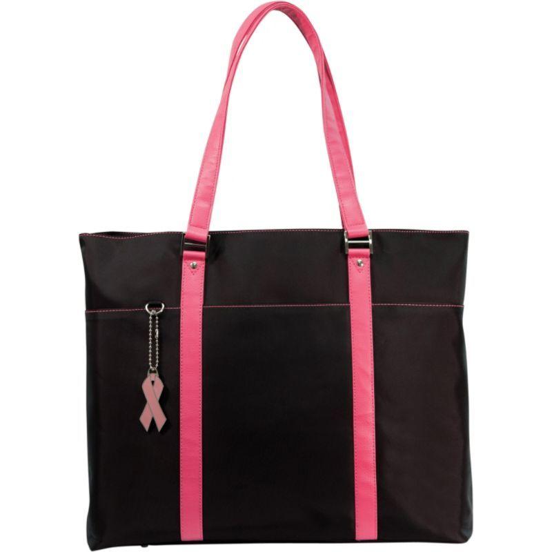 モバイルエッジ メンズ スーツケース バッグ Caring Case Collection Microfiber Tote Black/Pink