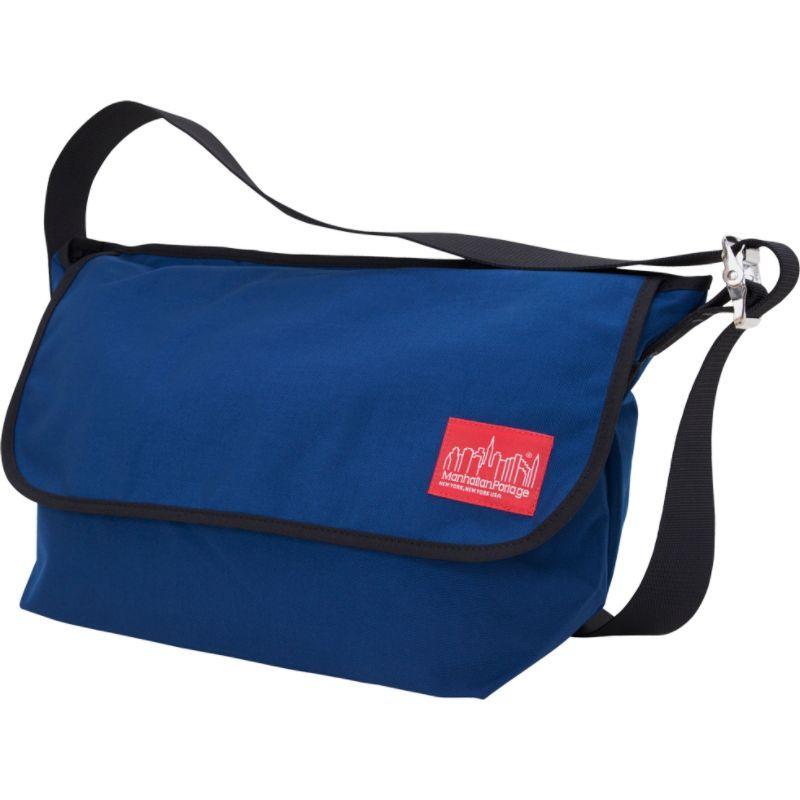 マンハッタンポーテージ メンズ ショルダーバッグ バッグ Vintage Messenger Bag - Large Navy