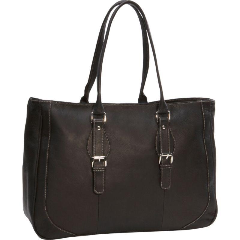 ピエール メンズ スーツケース バッグ Ladies Laptop Tote Bag Black