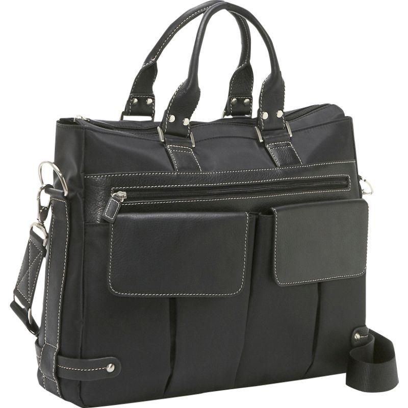 ベリノ メンズ スーツケース バッグ The Euro Ladies' Laptop Tote Black