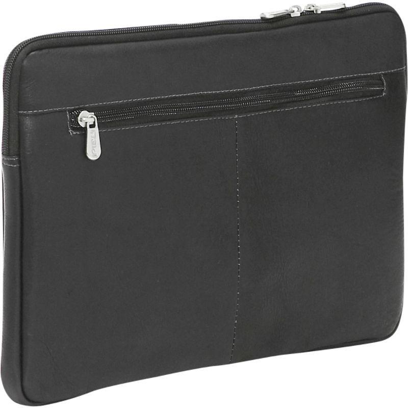 ピエール メンズ スーツケース バッグ 13 Zip Laptop Sleeve Black