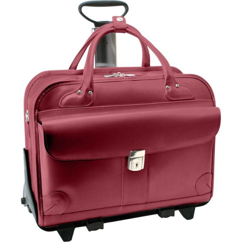 マックレイン メンズ スーツケース バッグ Lakewood -Fly-Through 15 Checkpoint-Friendly Removable Rolling Ladies' Briefcase Red
