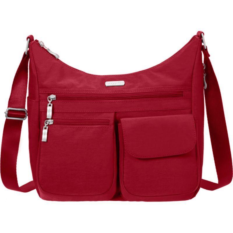 バッガリーニ メンズ ショルダーバッグ バッグ Everywhere Shoulder Bag with RFID Apple