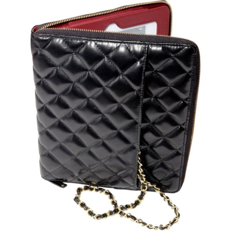 エコスタイル メンズ PC・モバイルギア アクセサリー Bordeaux iPad Case Black/Red