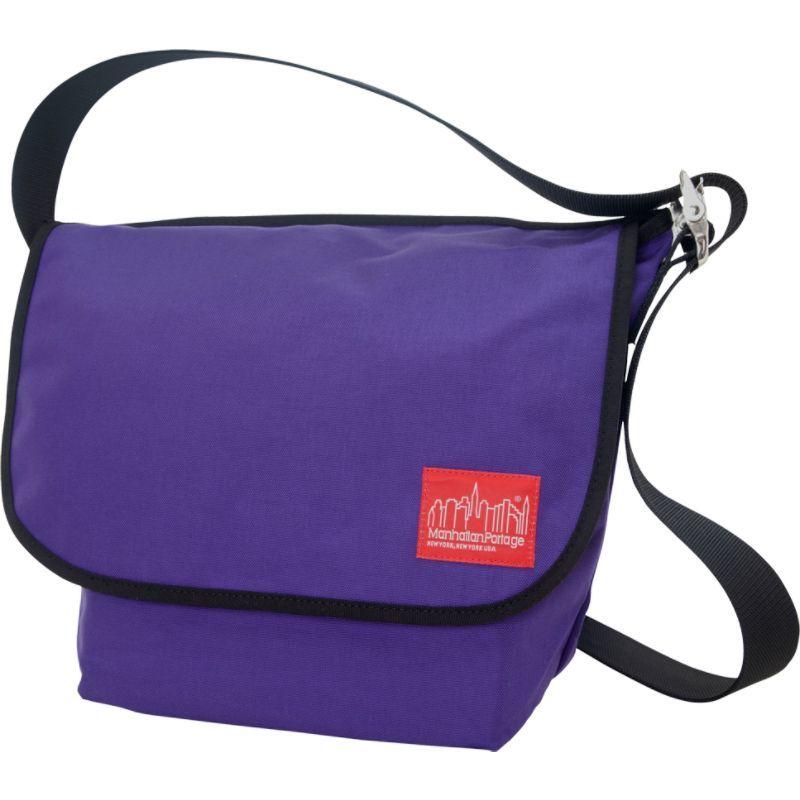 マンハッタンポーテージ メンズ ショルダーバッグ バッグ Vintage Messenger Bag (M) Purple
