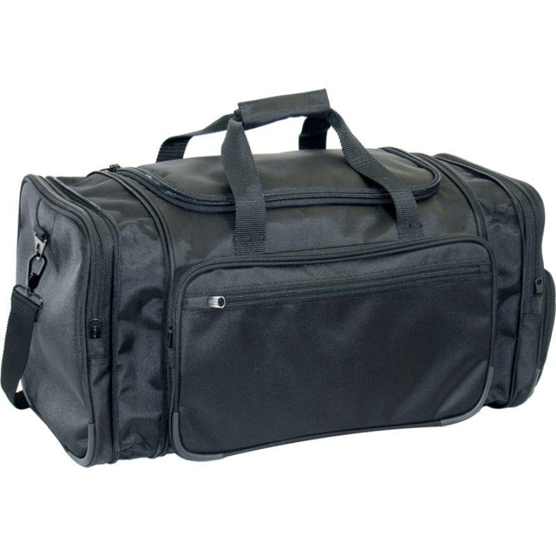 ネットパック メンズ スーツケース バッグ 20 1680 D Ballistic Poly Expandable Travel Duffel Black