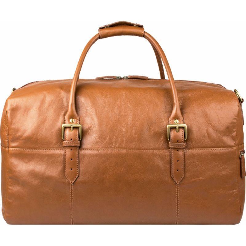 ハイデザイン メンズ スーツケース バッグ Charles Leather Cabin Travel Duffle Weekend Bag Tan