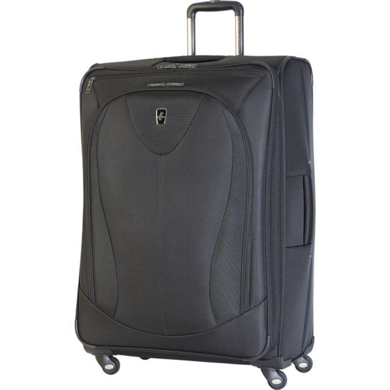 アトランティック メンズ スーツケース バッグ Ultra Lite 3 29 Expandable Spinner Black