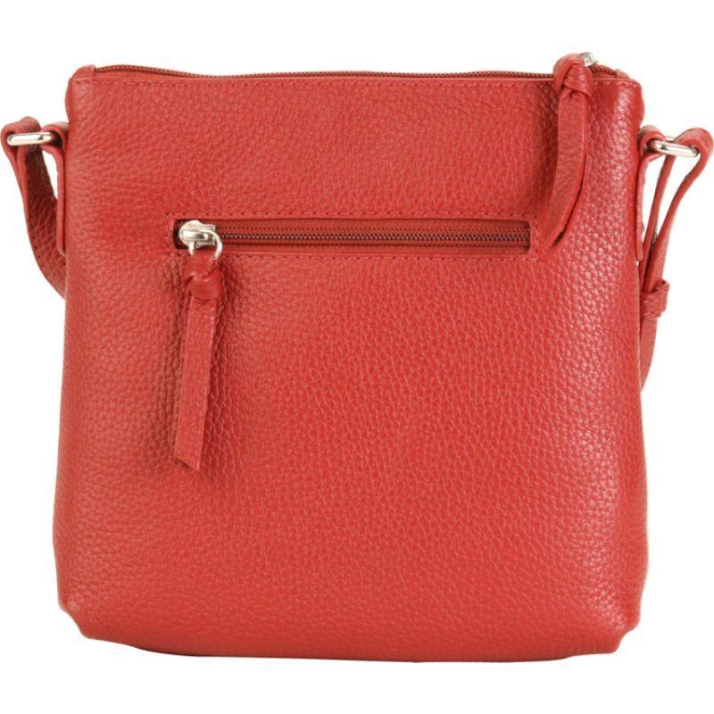ハダキ メンズ ボディバッグ・ウエストポーチ バッグ Susan Crossbody Handbag Deep Red