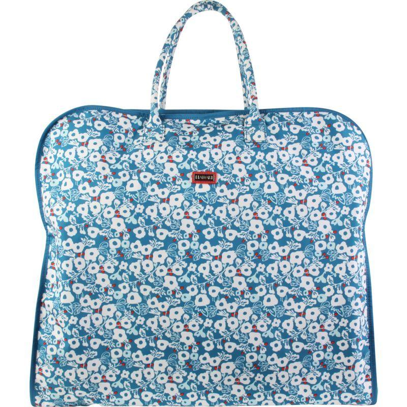 ハダキ メンズ Teal スーツケース バッグ Garment Bag Garment Berry Blossom Bag Teal, 寝具インテリア工房リュクス:aee2d190 --- municipalidaddeprimavera.cl