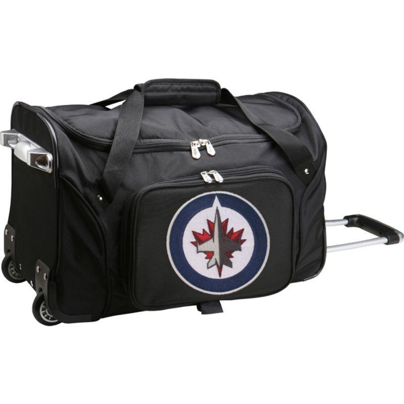 デンコスポーツ メンズ スーツケース バッグ NHL 22 Rolling Duffel Winnipeg Jets