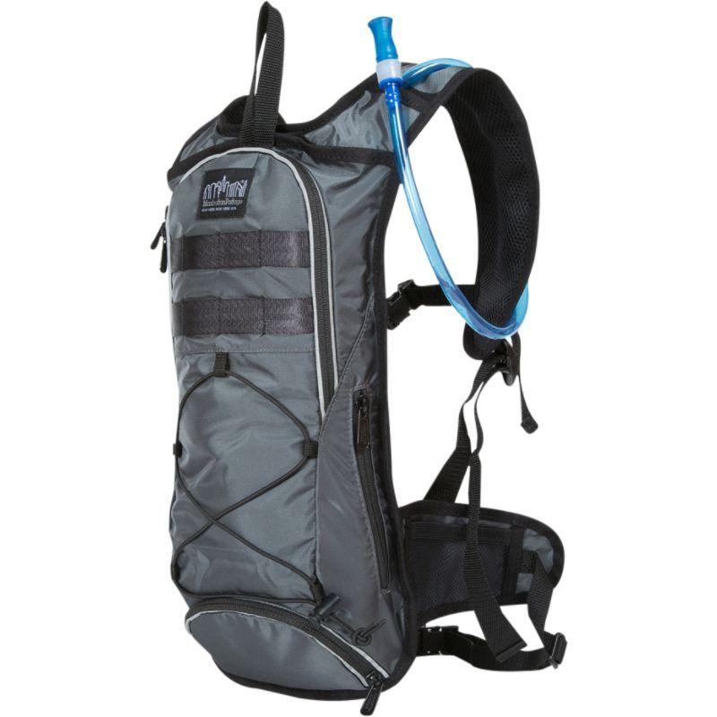 マンハッタンポーテージ メンズ バックパック・リュックサック バッグ Central Park Reservoir Backpack Gray
