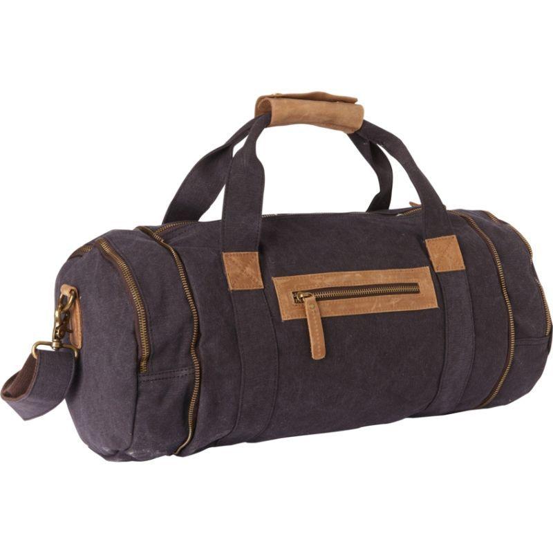 ヴァガボンドトラベラー メンズ スーツケース バッグ Classic Medium Canvas Duffle Gym Bag Grey