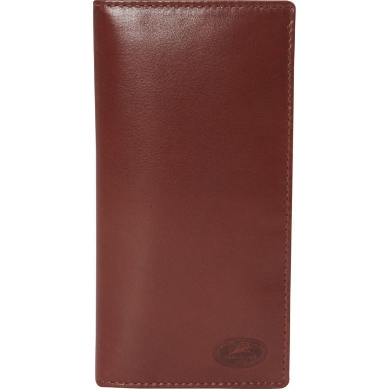 マンシニレザーグッズ メンズ 財布 アクセサリー Manchester Collection: Men's RFID Breast Pocket Wallet Cognac
