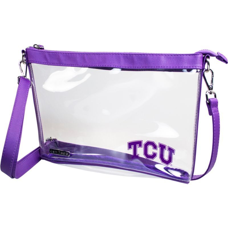 カプリデザイン メンズ ボディバッグ・ウエストポーチ バッグ Large NCAA Crossbody - Licensed Texas Christian University
