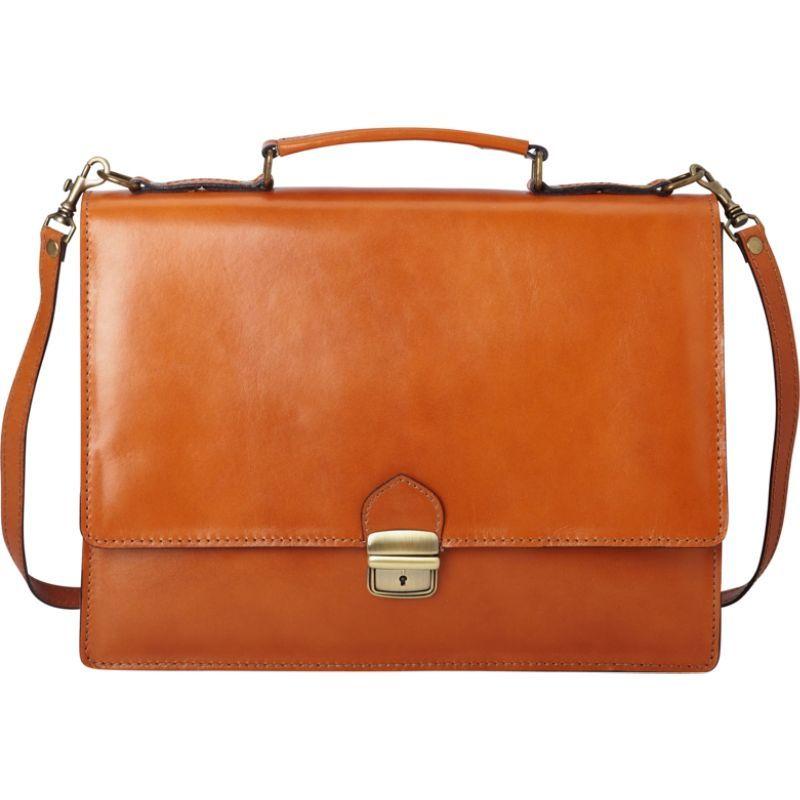 シャロレザーバッグス メンズ スーツケース バッグ Thin Style Italian Leather Brief and Messenger Bag Apricot