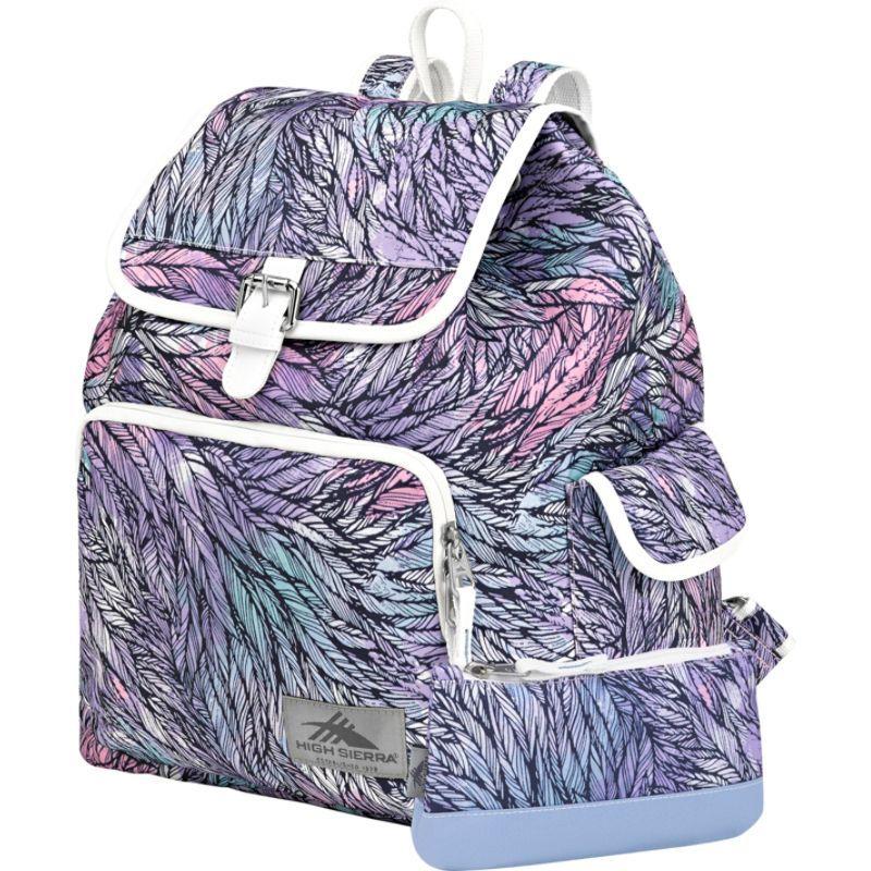 ハイシエラ メンズ バックパック・リュックサック バッグ Elly Backpack Feather Spectre/Powder Blue