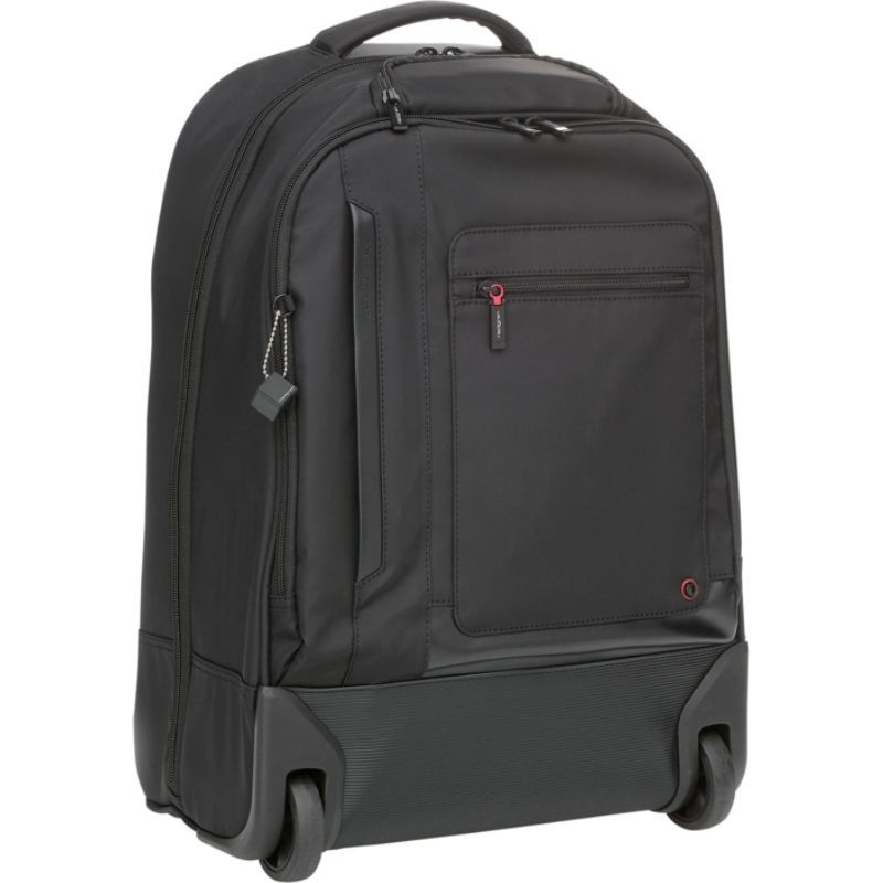 ヘドグレン メンズ スーツケース バッグ Excitor Laptop Backpack on Wheels Black