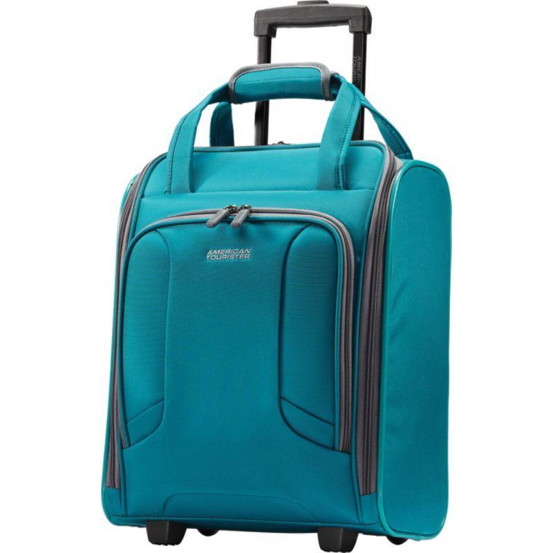 専門店では アメリカンツーリスター スーツケース メンズ スーツケース Carry-On バッグ 4 Kix 16 Rolling Carry-On Tote Tote Teal, 辛子めんたいこ ひろしょう:ff751c6d --- scottwallace.com