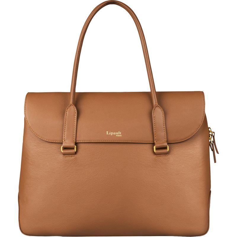 リパルトパリ メンズ スーツケース バッグ Plume Elegance Leather Laptop Tote Bag Cognac