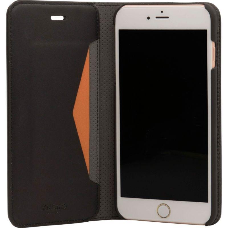 クノモ メンズ PC・モバイルギア アクセサリー iPhone 8+/7+ Premium Leather Folio Black
