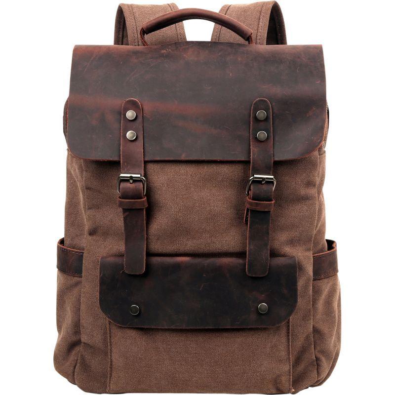 ティエスディー メンズ バックパック・リュックサック バッグ Valley Hill Backpack Brown
