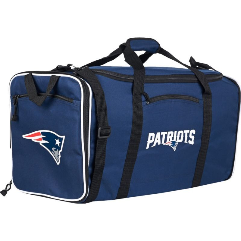 NFL メンズ ボストンバッグ バッグ Steal Duffel New England Patriots
