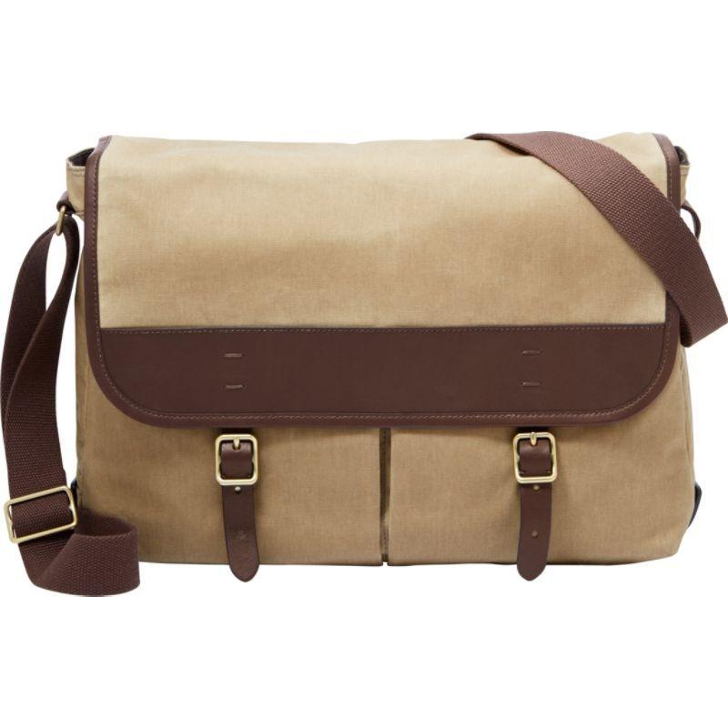 フォッシル メンズ スーツケース バッグ Buckner Messenger Brown