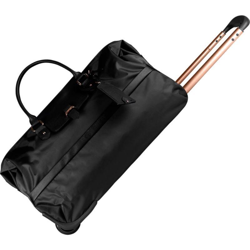 リパルトパリ メンズ スーツケース バッグ Plume Avenue Wheeled Duffel Bag Jet Black