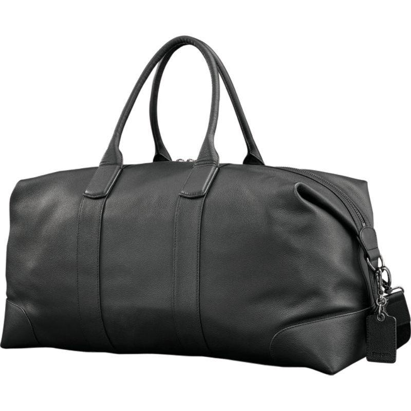 サムソナイト メンズ スーツケース バッグ Mens Leather Classic Duffel Black