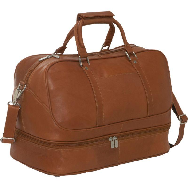 ピエール メンズ スーツケース バッグ False Bottom Sports Bag Saddle