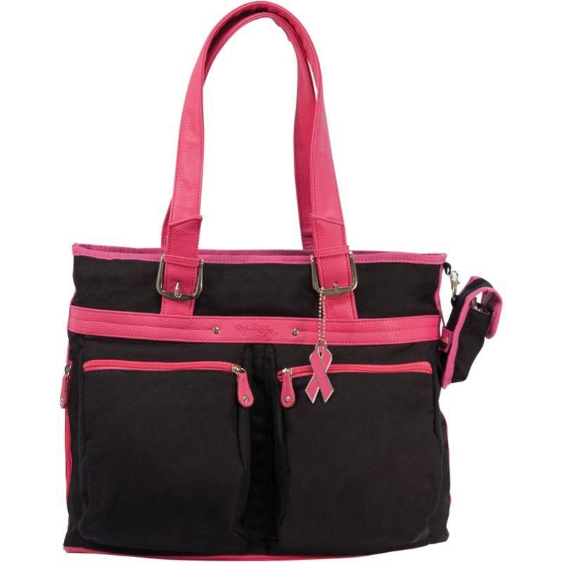 モバイルエッジ レディース スーツケース バッグ ECO Friendly Laptop Tote - 16PC / 17 MacBook Pro Black/Pink